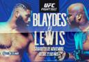 UFC Fight Night: Blaydes vs Lewis en vivo por FOX Sports Premium
