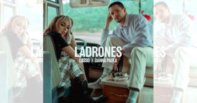 Lasso y Danna Paola estrenan «Ladrones»