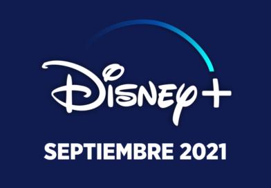 Los estrenos de Disney+ en septiembre 2021